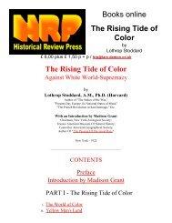 HRP: The Rising Tide of Color - Great White Desert