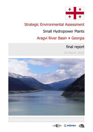 Strategic Environmental Assessment Small Hydropower Plants ...