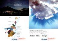 Wetter - Klima - Energie