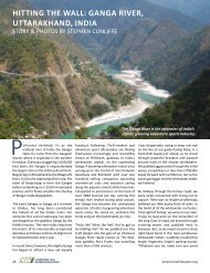 hITTING ThE WALL: GANGA RIVER, UTTARAKhAND ... - Aquaterra