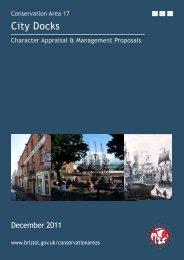 City Docks (pdf, 4.5 MB) (opens new window - Bristol City Council