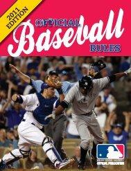 Official Baseball Rules - MLB.com