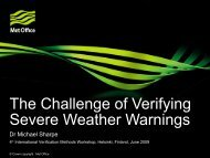 Michael Sharpe: The challenge of verifying severe weather - FMI