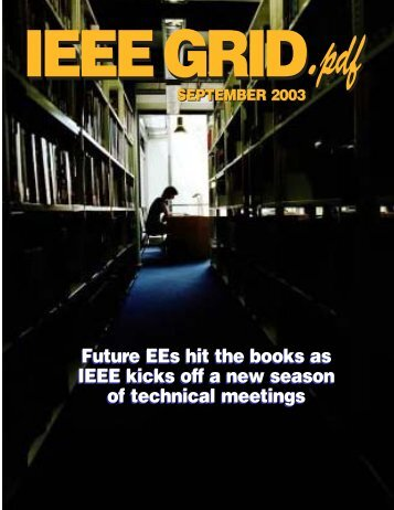 Future EEs hit the books as IEEE kicks off a new season of ... - e-GRID