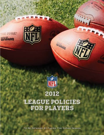 Table Of Contents - NFL Evolution