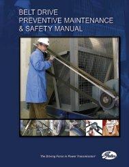 belt drive preventive maintenance & safety manual - Gates