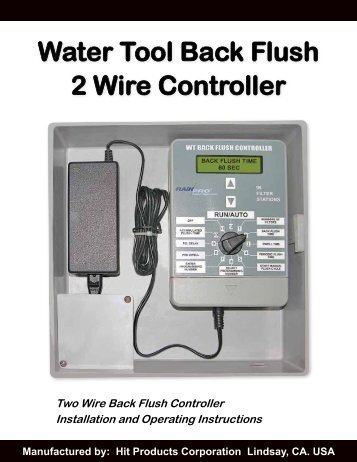 water tool back flush 2 wire controller hit products corporation?quality=85 dorma es dorma el301 wiring diagram at bayanpartner.co