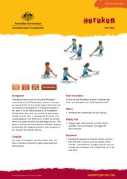 aurukun - Australian Sports Commission
