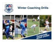 Batting Drills - Auckland Cricket