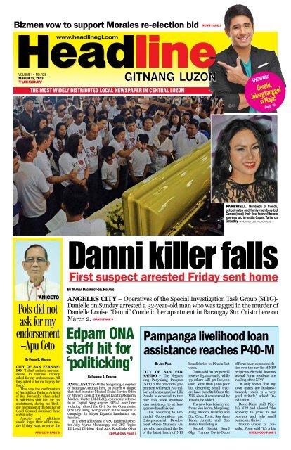 Edpam ONA staff hit for 'politicking' - Headline Gitnang Luzon