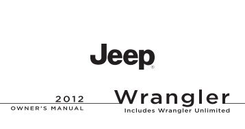 2000 2004 2005 20 2012 jeep wrangler owners manual publicscrutiny Images
