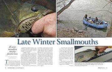 Late Winter Smallmouths (PDF)