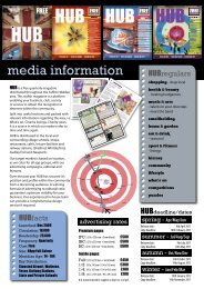 media pack - Hub Magazine