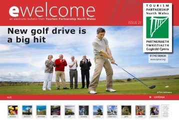 New golf drive is a big hit - Tourism Partnership North Wales