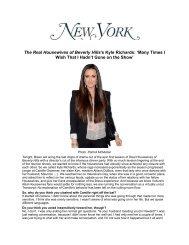 NY Magazine Online 02.15.2011 - Kyle Richards
