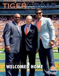 WELCOMED HOME - Auburn University Athletics