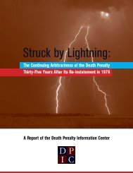 Struck by Lightning - Death Penalty Information Center