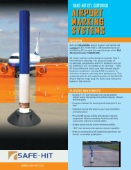airport marking systems - Safe-Hit