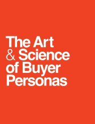 The Art & Science of Buyer Personas - D Custom