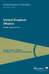 HiT Wales - World Health Organization Regional Office for Europe