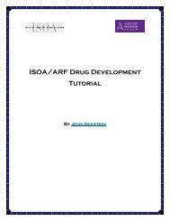 ISOA/ARF Drug Development Tutorial - Alzheimer Research Forum