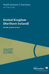 Northern Ireland HiT - World Health Organization Regional Office for ...