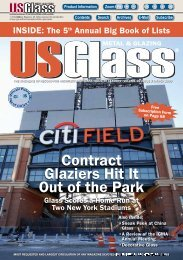 Contract Glaziers Hit It Out of the Park - USGlass Magazine