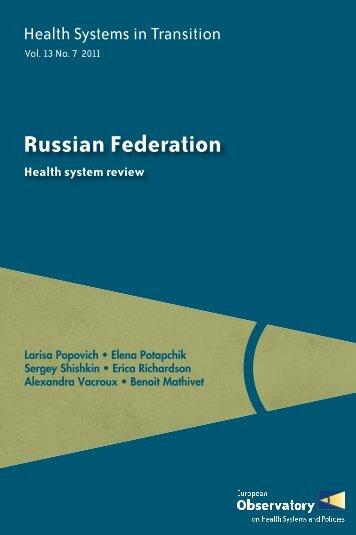 Russian Federation - World Health Organization Regional Office for ...