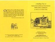 6. Sample Brochure - The New York Landmarks Conservancy
