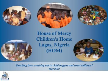 House of Mercy Children's Home Lagos, Nigeria (HOM)
