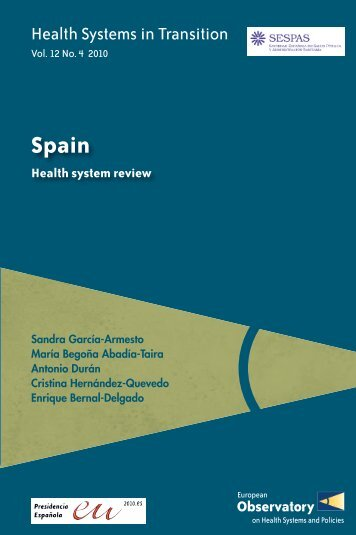 Spain Health System Review - World Health Organization Regional ...