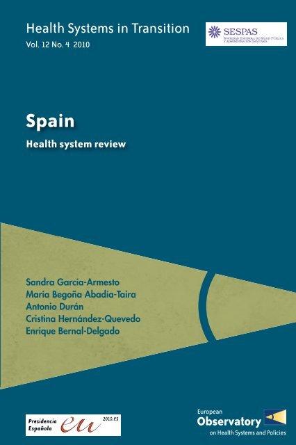 Spain Health System Review World Health Organization