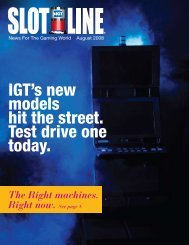 IGT's new models hit the street. Test drive one today.