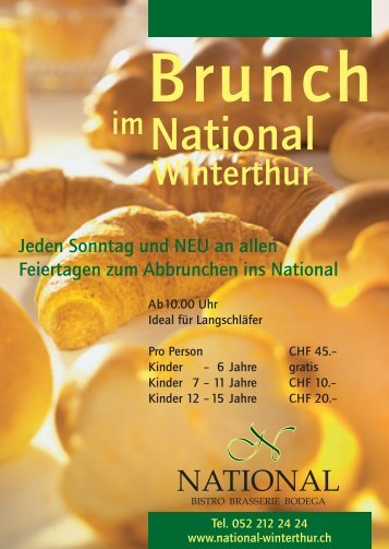 Brunch im National