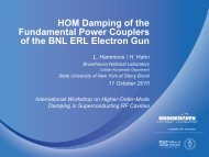 HOM Damping of the Fundamental Power Couplers of the ... - LEPP