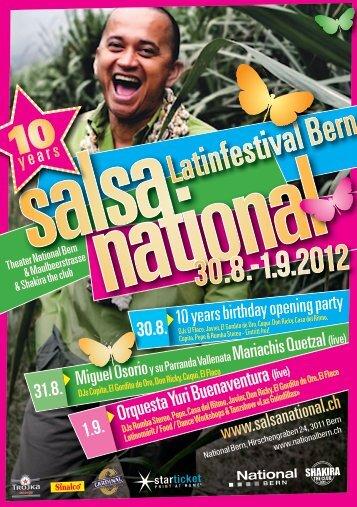 Flyer SalsaNational - National Bern