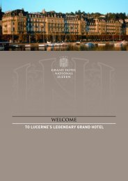 A Slice of History - Grand Hotel National