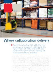 Read article - Unipart Logistics