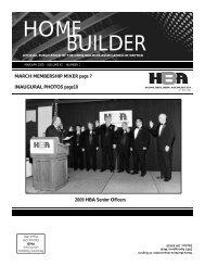 March - April - Home Builders Association of Dayton