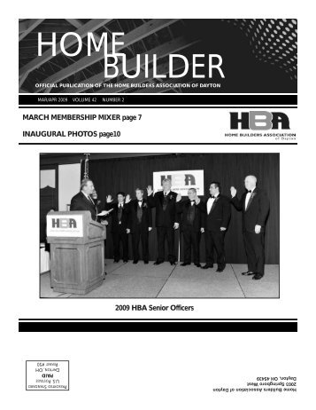 March - April - Home Builders Association of Dayton
