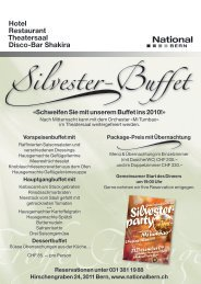 Silvester- party - National Bern
