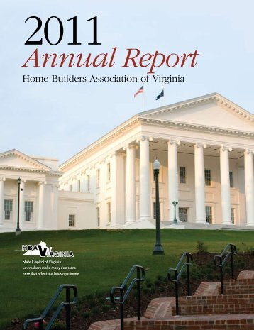 Annual Report - Home Builders Association of Virginia
