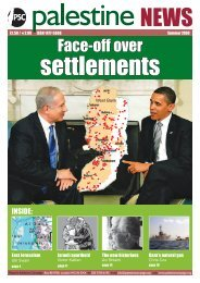 Face-off over - Palestine Solidarity Campaign