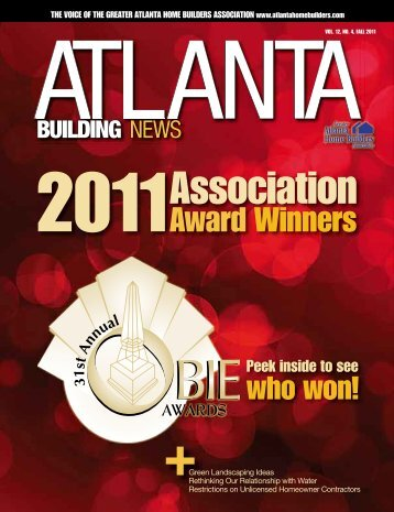 OBIE Award Winners - Greater Atlanta Home Builders Association