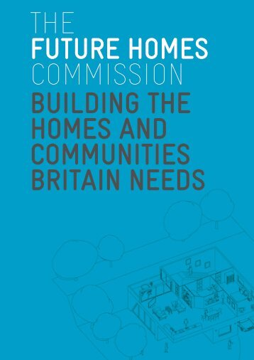 Future Homes Commission Report (PDF, 10mb) - Royal Institute of ...