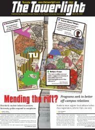Mending the rift? Programs seek to better off-campus relations