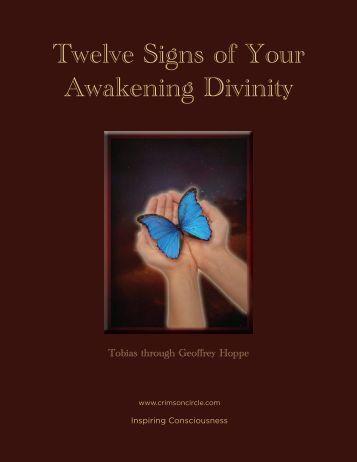 Twelve Signs of Your Awakening Divinity - Crimson Circle