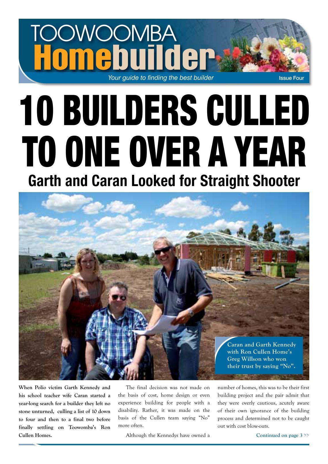 1 free magazines from roncullenhomes com au for Homebuilder com