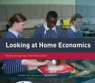 Looking at Home Economics - Department of Education and Skills