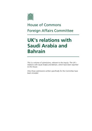 PDF Version - United Kingdom Parliament